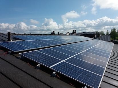 20,5kW Solpanelsanläggning