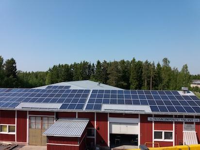 33,35kW Solpanelsanläggning 1