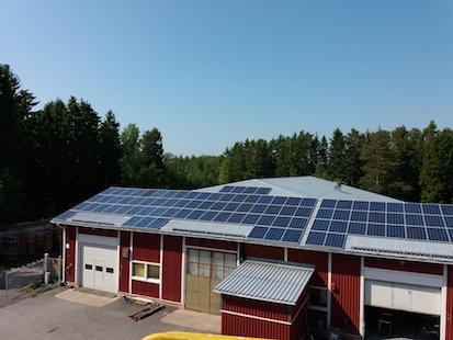 33,35kW Solpanelsanläggning 3