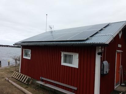 3,42kW Solpanelsanläggning 1