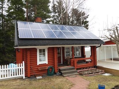 4,4kW Solpanelsanläggning 1