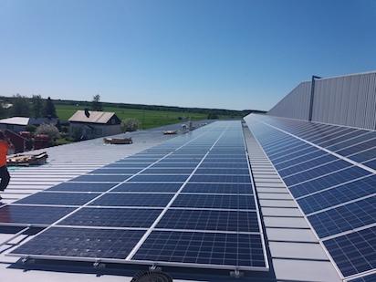 50kW Solpanelsanläggning 1