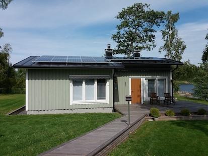 5,7kW Solpanelsanläggning 1