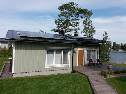 5,7kW Solpanelsanläggning 3
